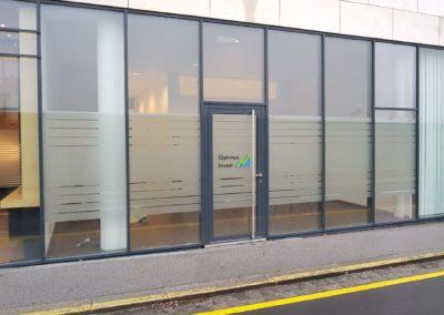 Sichtschutzfolien Portal Büro Linz